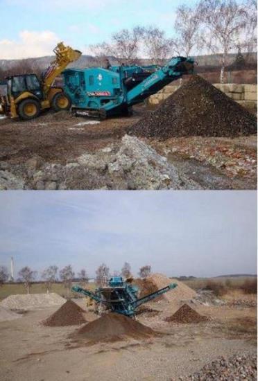 Zemní práce Praha – výkop, prodej štěrku i recyklace stavebních odpadů
