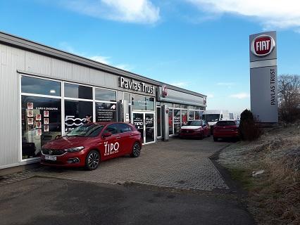 Nové i ojeté vozy a špičkový autoservis pro automobily značky FIAT