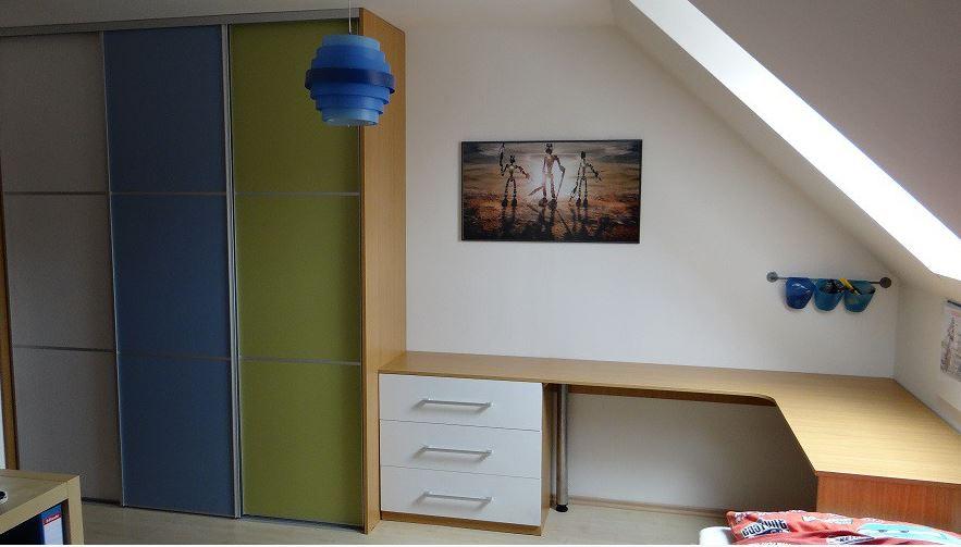 Vestavěné skříně a nábytek na míru