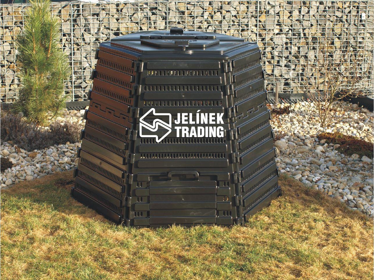 Efektivní zužitkování odpadu v moderních kompostérech