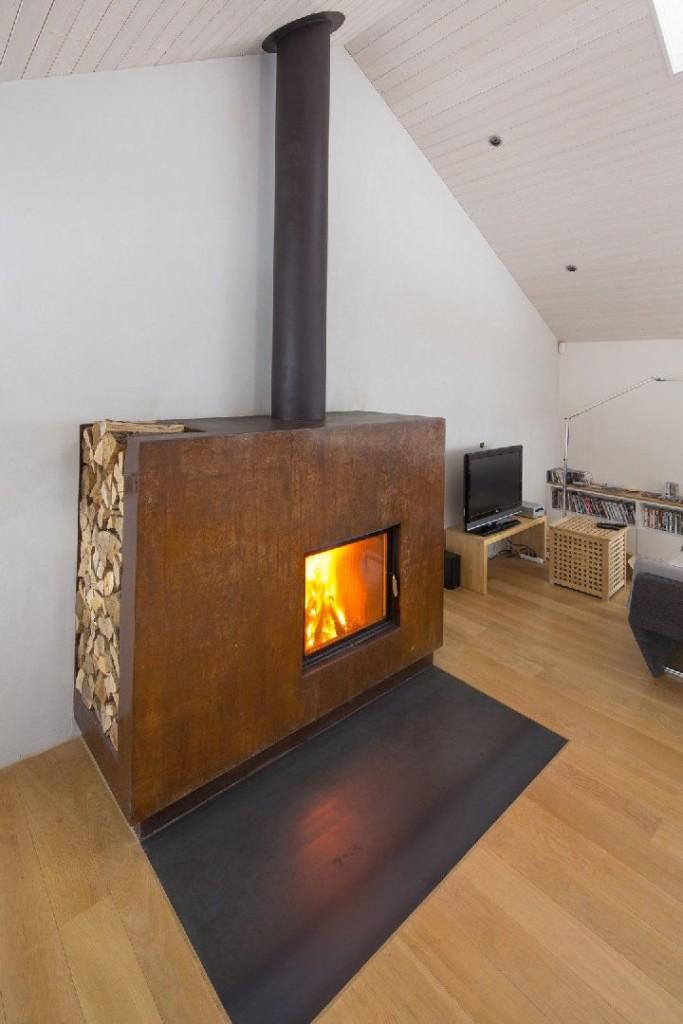 Akumulační sálavá kamna – užívejte si teplo