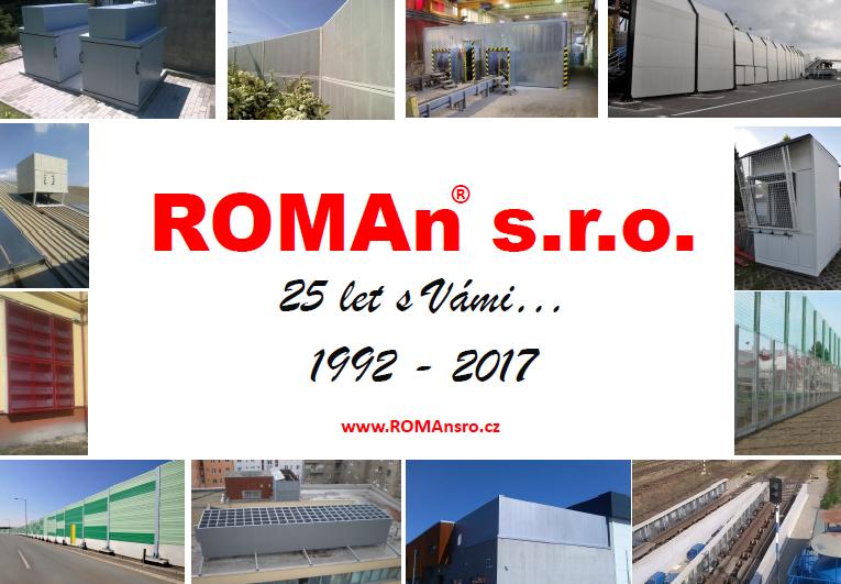 Snížení hluku ve výrobě, ROMAn s.r.o.
