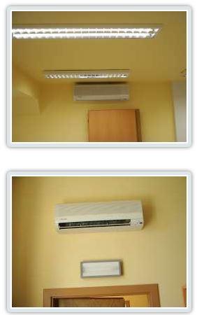 Klimatizace a klimatizační jednotky vhodné do domácností, firem, kanceláří a veřejných budov