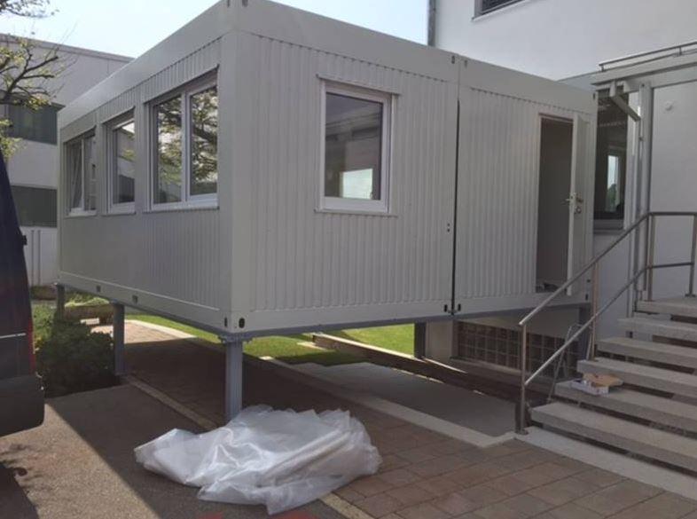 Obytné kontejnery zajistí dočasný příbytek nejen na stavbách