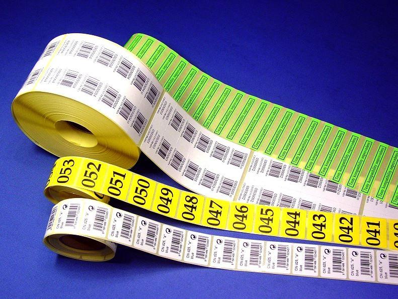 Výroba a prodej etiket a jejich možnost využití na milion způsobů