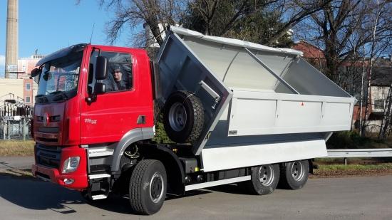 Přestavba vozů na přepravu zemědělských produktů