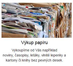 Výkup papíru