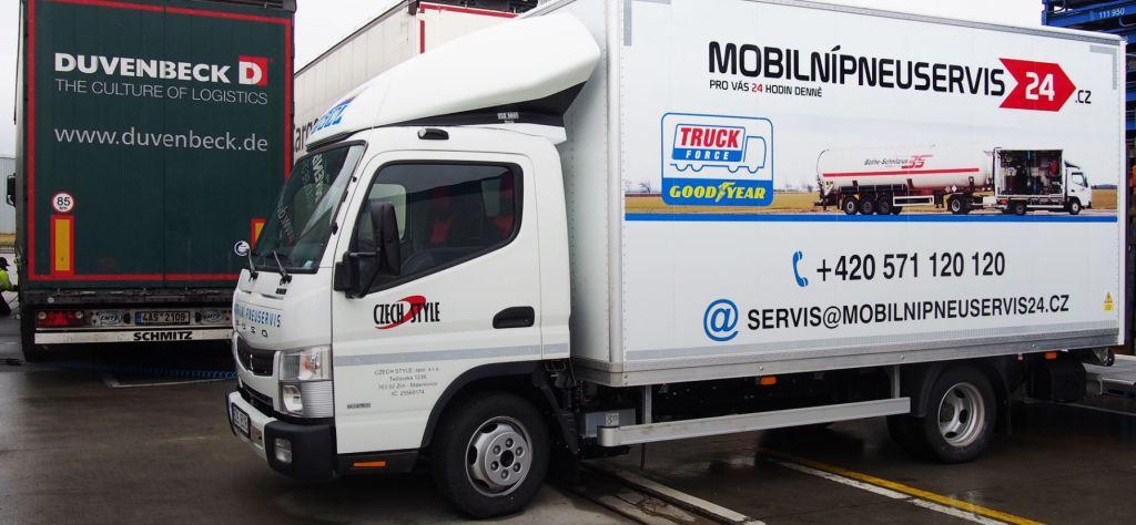 Mobilní pneuservis pro osobní i nákladní vozy, CZECH STYLE, spol. s r.o.