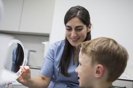 Dětská stomatologie, Zubní klinika Praha 4