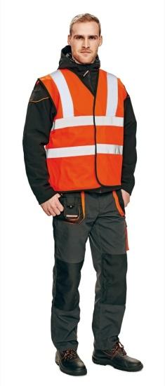Pracovní oděvy, výstražné vesty