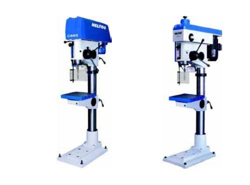 HELTOS a.s., výroba: sloupové a stolní vrtačky, dvoukotoučové a pásové brusky