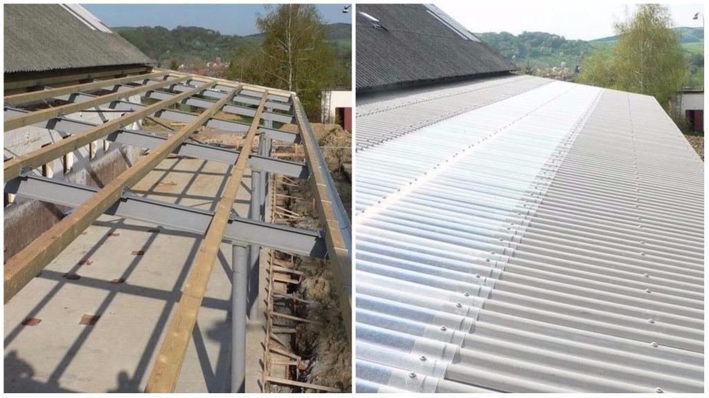 Rekonstrukce střech, izolace, KD SLUŽBY Vladimír David