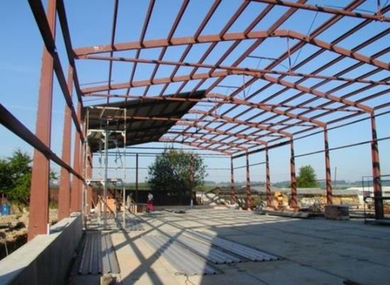 Výroba, dodávka a montáž betonových průmyslových hal
