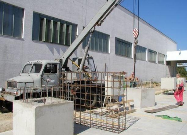 Výroba, dodávka a montáž betonových průmyslových hal, SAPA - LPJ, spol.s.r.o.