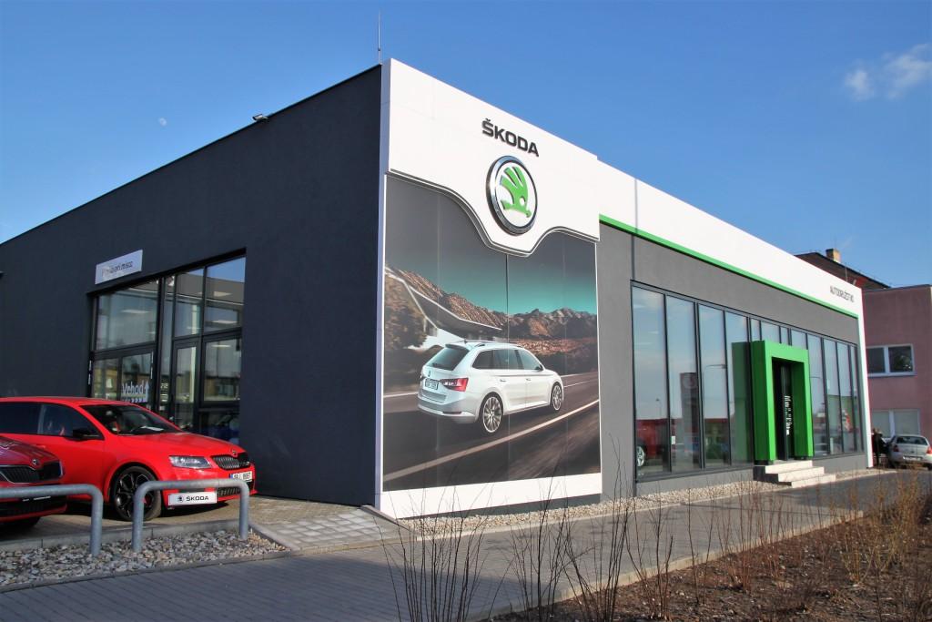 Autocentrum pro autorizovaný prodej a servis vozů Škoda, Renault a Dacia
