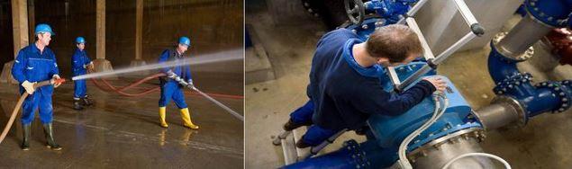 Středočeské vodárny a.s. se zabývají výrobou a distribucí pitné vody a také odváděním a čištěním odpadních vod