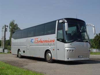BOHEMIAN LINES s.r.o., autobusové jízdenky - on-line Norsko, Finsko, Dánsko, Švédsko.