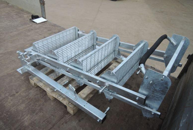 TEROM s.r.o.: výroba pomocných rámů k vozům