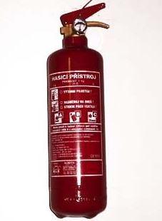 Prodej kvalitních hasicích přístrojů