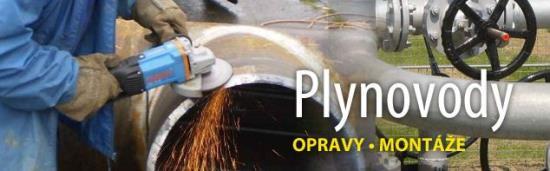 Výstavba a rekonstrukce plynovodů a dalších produktovodů