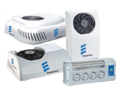 Výroba a montáž nezávislých topení, klimatizací a spacích kabin