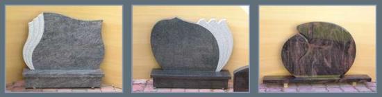 Výroba náhrobků i pomníků z přírodního kamene či žuly