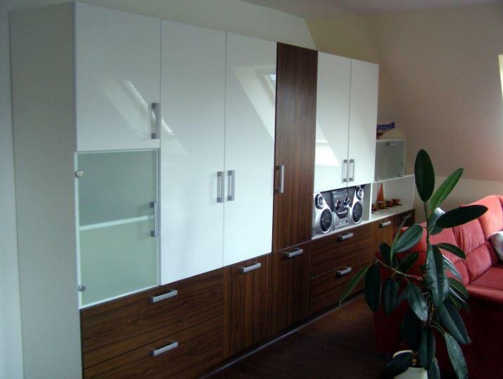 Vestavěné skříně, zakázkový nábytek, Kuchyně Chábera, Liberec