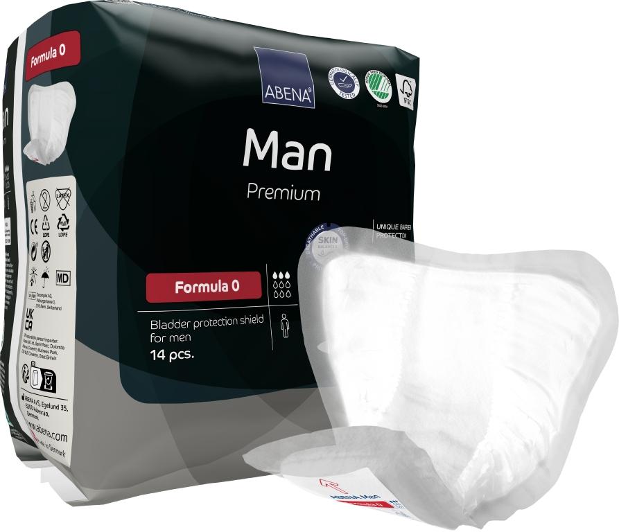 Anatomicky tvarované vložky pro stresovou inkontinenci, ABENA, Untraco v.o.s.