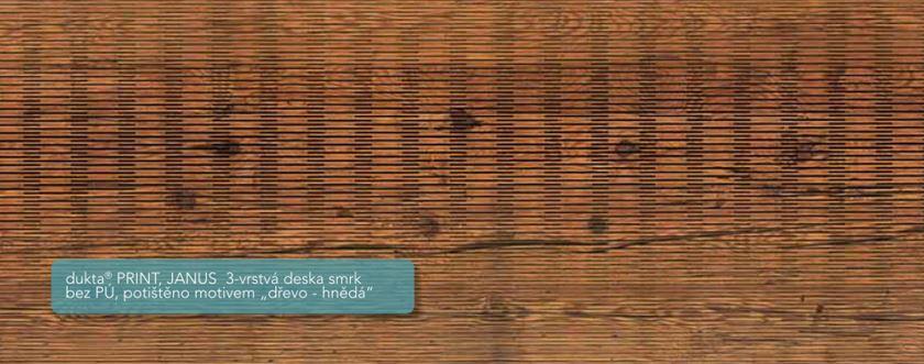 Potisk dřevěných desek Dukla, FK DŘEVĚNÉ LIŠTY
