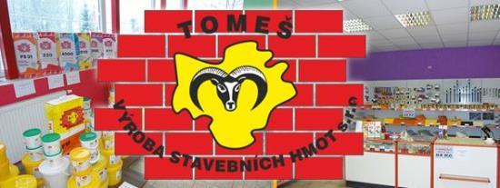 Výrobou stavebních hmot se zabývá firma Tomeš