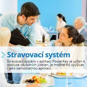 Stravovací systém v aplikaci PowerKey, ADVENT, spol. s r. o., Praha 6