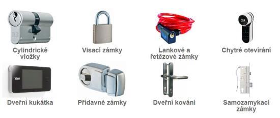 Zabezpečení našeho domova, zajistěte dveře, branky nebo vrata kvalitními zámky