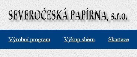 Výroba šedé lepenky, SEVEROČESKÁ PAPÍRNA, s. r.o., Novosedlice