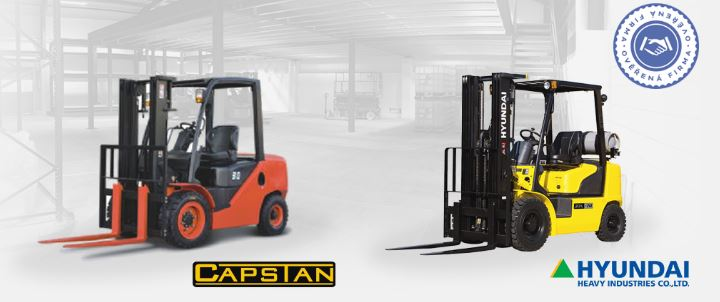 Prodej, opravy a servis vysokozdvižných vozíků