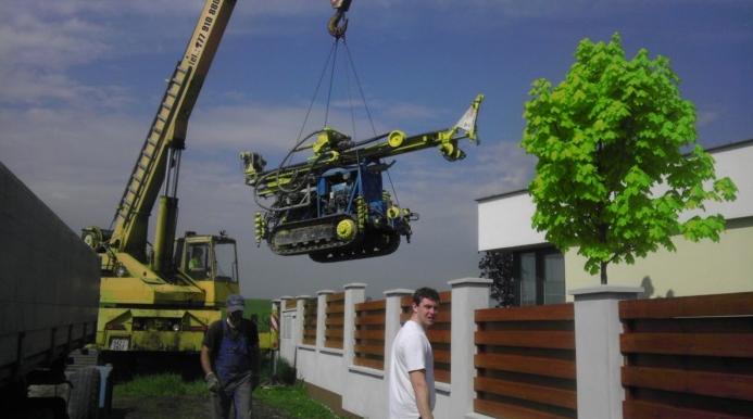 Technika k vrtání studny, POŽI s.r.o.