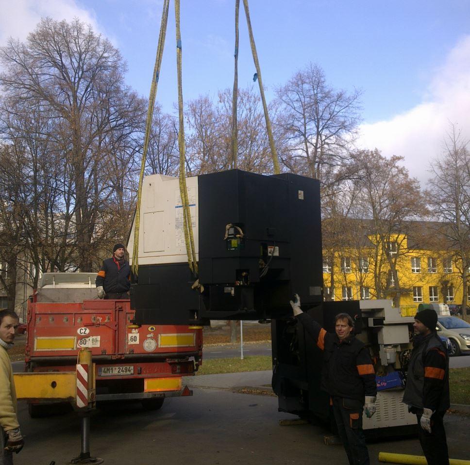 transport strojů a technologií, Radek Kocián - MODEKO