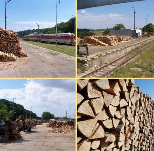 prodej palivového a krbového dřeva, PRODEX, spol. s r.o.