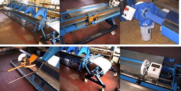 Výroba strojů pro oblast klempířství, zámečnictví a jiné údržbářské dílny