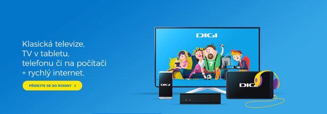 Digi TV – to jsou neomezené možnosti sledování programů na telefonu, tabletu nebo televizi