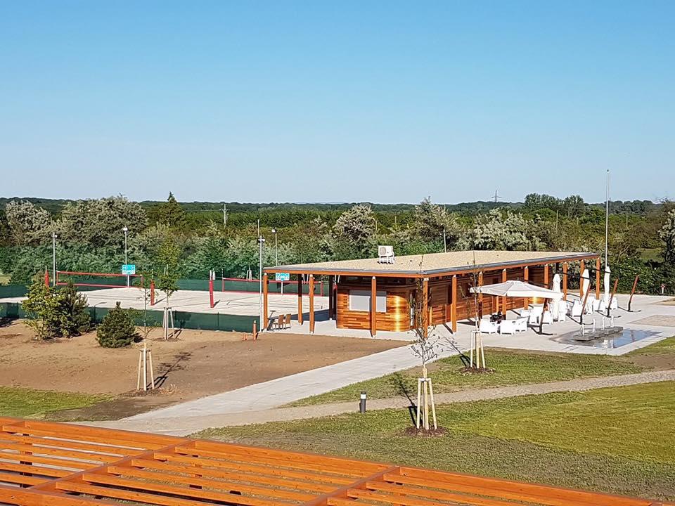 Beach volejbalová hřiště, ****Spa Resort Lednice