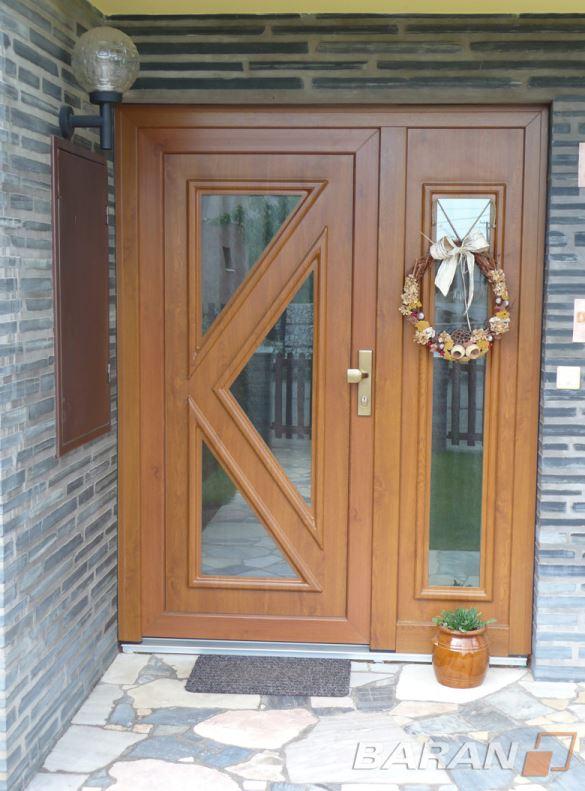 Vstupní dveře, Baran - FMB, spol. s r.o. Okna, dveře, vrata, stavba