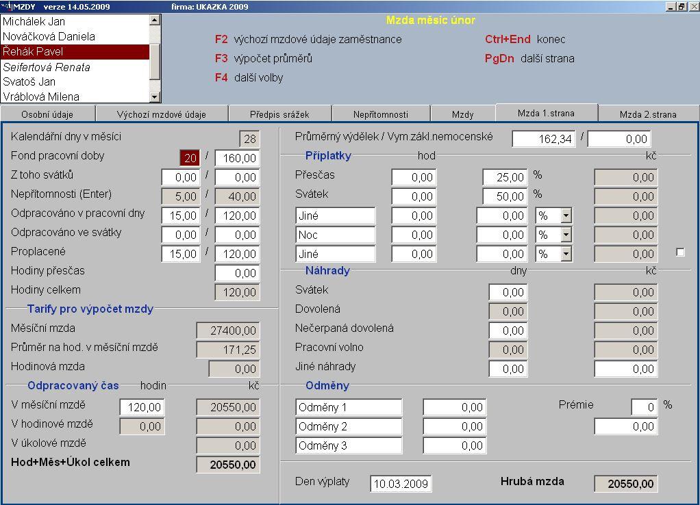 Vývoj účetního a mzdového softwaru