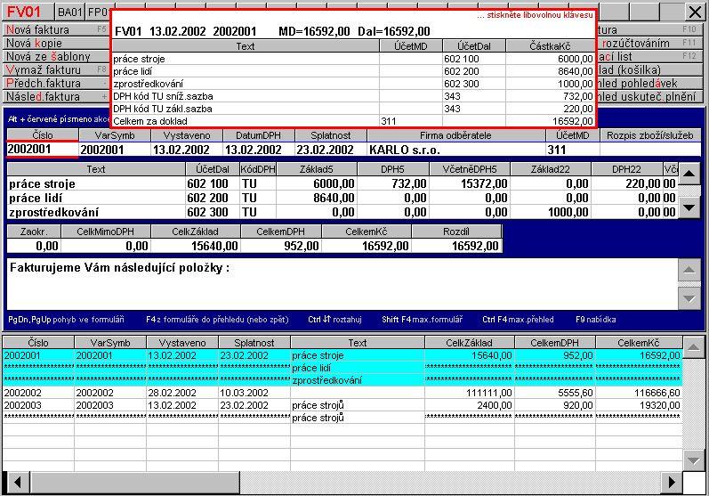 Účetní a mzdový softwar, ProgEco s.r.o.
