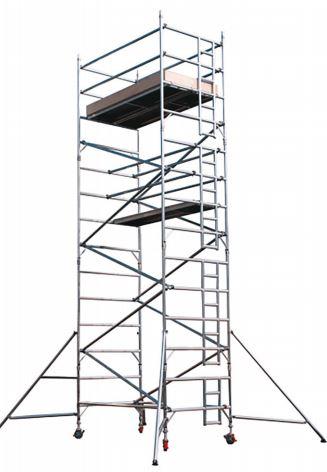 Pojízdné hliníkové lešení a věže, ZDENĚK VORLICKÝ, stavební stroje