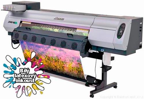 Latexová tiskárna Mimaki JV400 LX, ELECTRON, spol. s r.o.