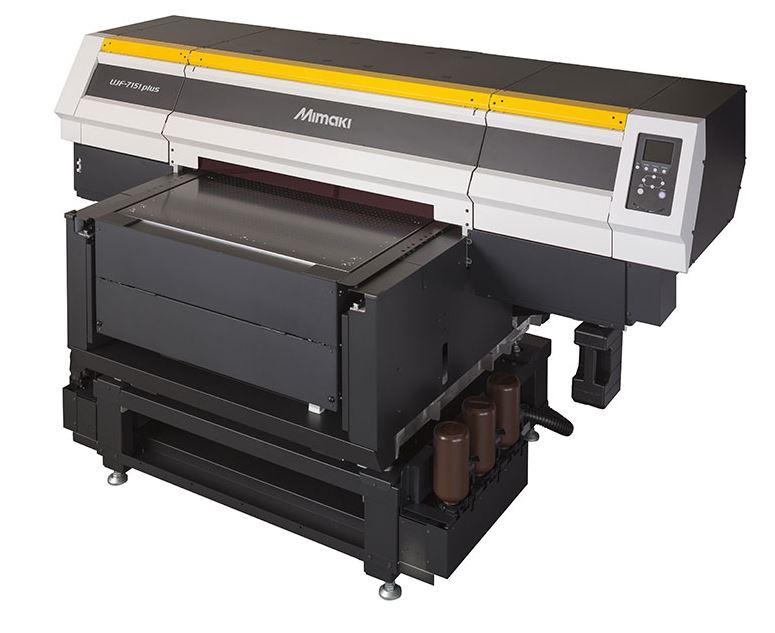 UV LED tiskárna Mimaki UJF-7151plus, ELECTRON, spol. s r.o.