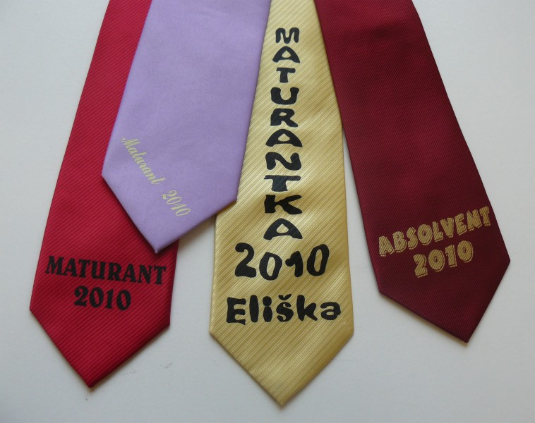 Maturitní kravaty, Reklamní potisk, s.r.o.