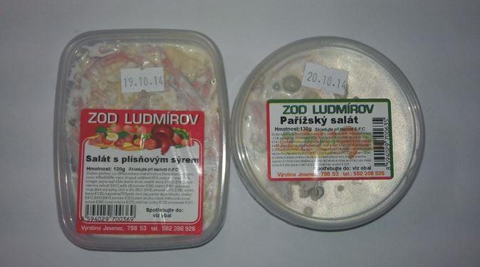 Studená pokrmy, Zemědělské obchodní družstvo Ludmírov