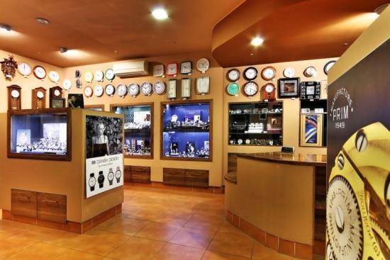 Prodej a opravy hodin a hodinek, Hodinářství Strnad