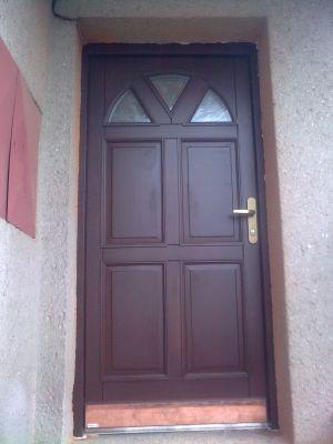 Vchodové dveře, Zdeněk Lenčéš